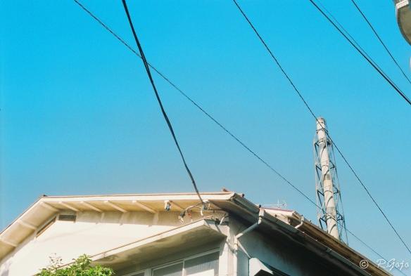 ローライ35で撮影した青空の写真