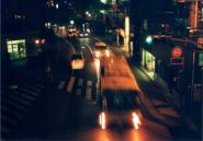ローライ35写真(夜のバス)