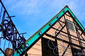 ドイツ村の雰囲気のある建物の写真