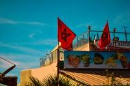 モロッコ写真(国旗)
