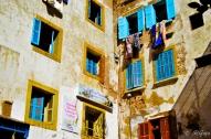 モロッコ写真(青い窓)